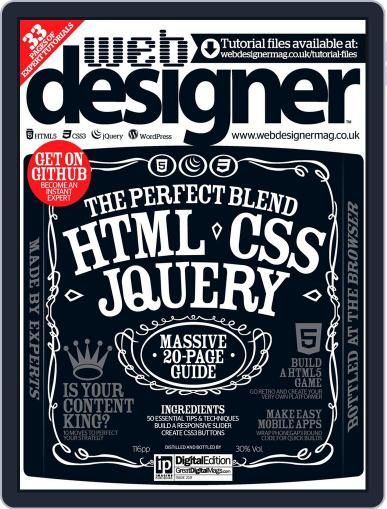 Web Designer (Digital) February 5th, 2014 Issue Cover