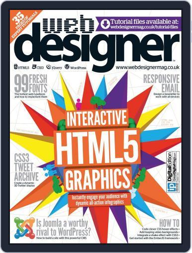 Web Designer October 16th, 2013 Digital Back Issue Cover