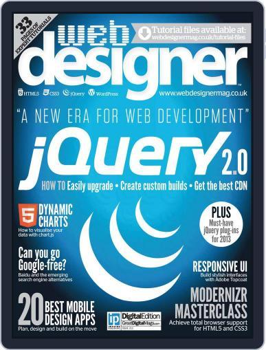 Web Designer (Digital) June 26th, 2013 Issue Cover