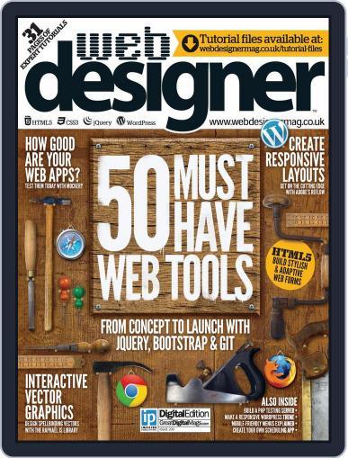 Web Designer May 1st, 2013 Digital Back Issue Cover