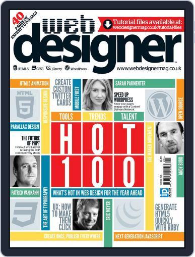 Web Designer (Digital) January 9th, 2013 Issue Cover