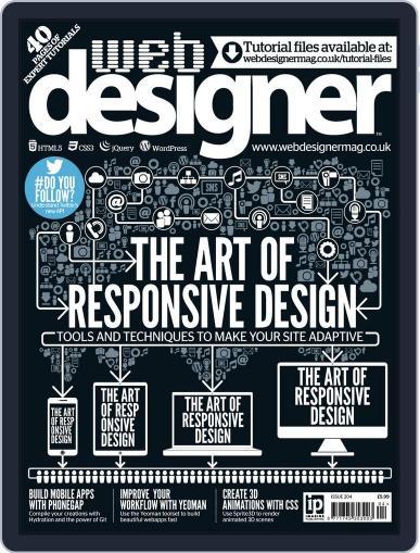 Web Designer (Digital) December 12th, 2012 Issue Cover