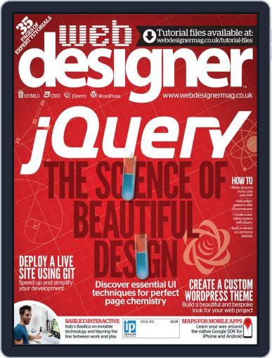 Web Designer (Digital) October 17th, 2012 Issue Cover