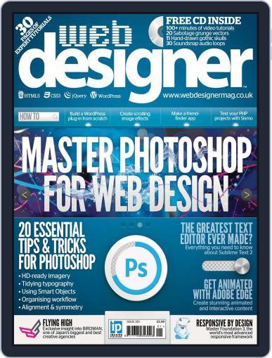 Web Designer (Digital) September 19th, 2012 Issue Cover