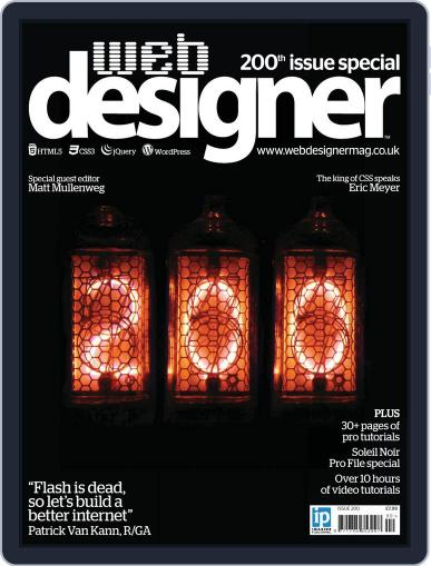 Web Designer (Digital) August 22nd, 2012 Issue Cover