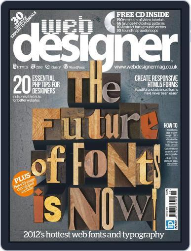 Web Designer June 27th, 2012 Digital Back Issue Cover