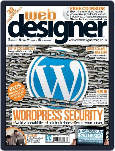 Web Designer May 1st, 2012 Digital Back Issue Cover