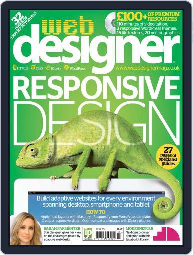 Web Designer April 12th, 2012 Digital Back Issue Cover