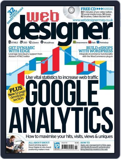 Web Designer (Digital) March 12th, 2012 Issue Cover