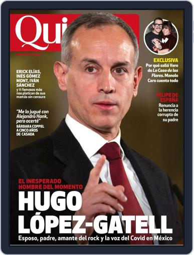 Quién (Digital) May 1st, 2020 Issue Cover