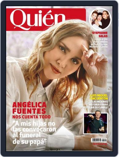 Quién (Digital) April 1st, 2020 Issue Cover