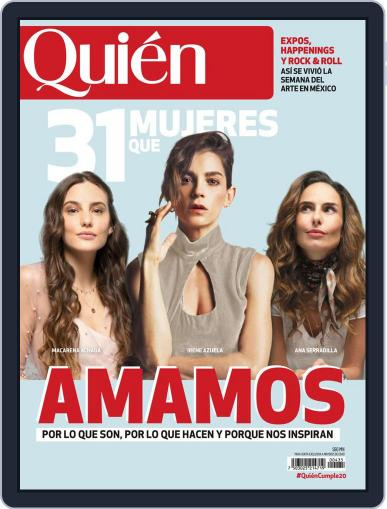 Quién (Digital) March 1st, 2020 Issue Cover