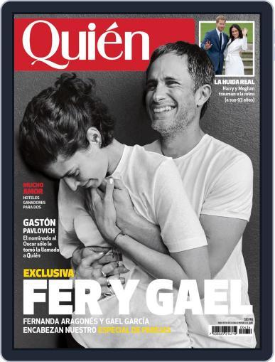 Quién (Digital) February 1st, 2020 Issue Cover