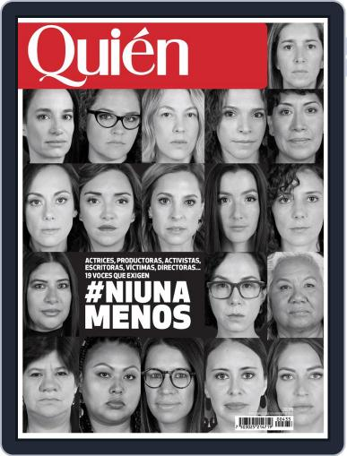Quién (Digital) January 1st, 2020 Issue Cover