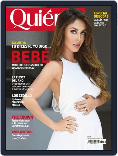 Quién (Digital) November 1st, 2019 Issue Cover