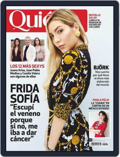 Quién (Digital) August 1st, 2019 Issue Cover