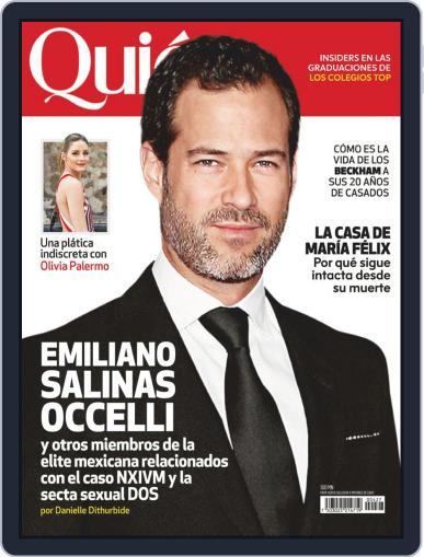 Quién (Digital) July 1st, 2019 Issue Cover