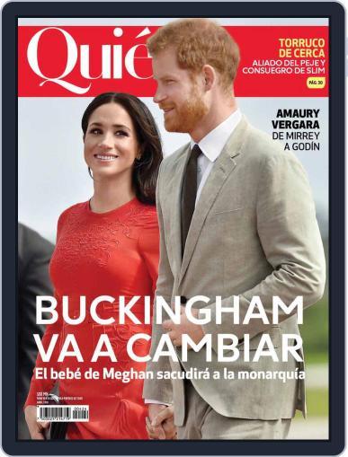 Quién (Digital) April 1st, 2019 Issue Cover