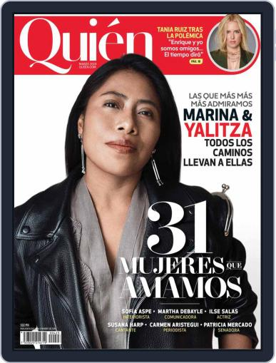 Quién (Digital) March 1st, 2019 Issue Cover