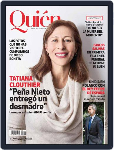 Quién (Digital) January 1st, 2019 Issue Cover