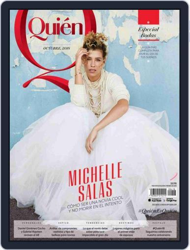 Quién (Digital) October 1st, 2018 Issue Cover