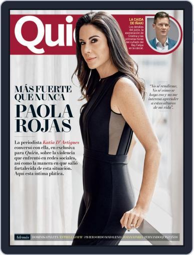 Quién (Digital) July 15th, 2018 Issue Cover