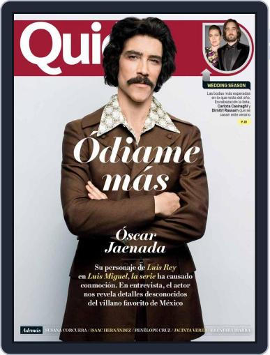Quién (Digital) July 1st, 2018 Issue Cover
