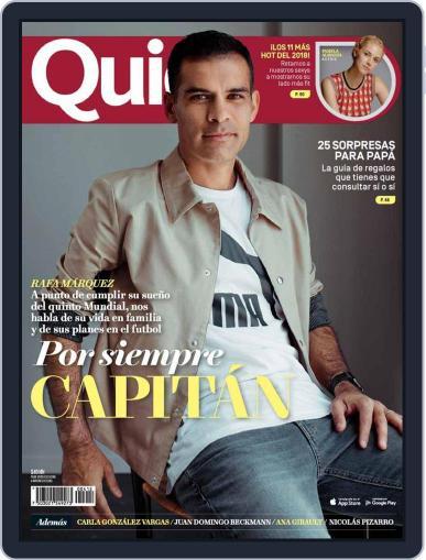 Quién (Digital) June 1st, 2018 Issue Cover