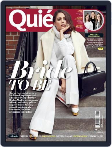 Quién (Digital) May 15th, 2018 Issue Cover