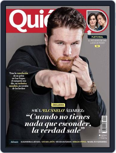 Quién (Digital) May 1st, 2018 Issue Cover
