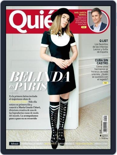Quién (Digital) April 15th, 2018 Issue Cover