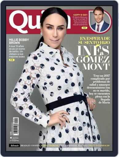 Quién (Digital) February 15th, 2018 Issue Cover