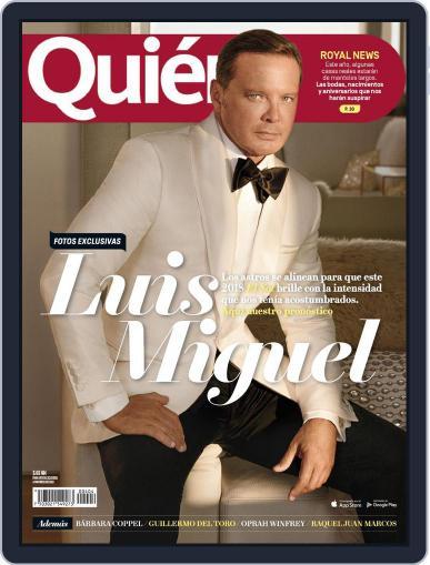 Quién (Digital) February 1st, 2018 Issue Cover