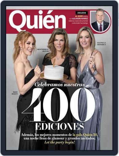 Quién (Digital) November 15th, 2017 Issue Cover