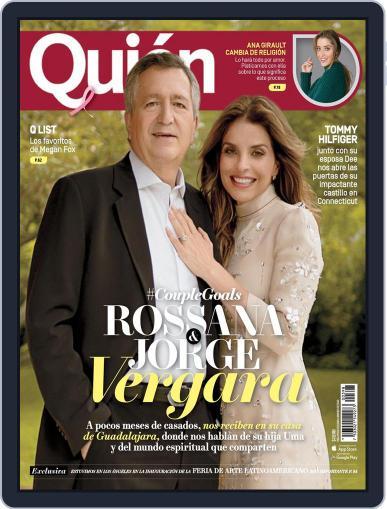 Quién (Digital) October 15th, 2017 Issue Cover