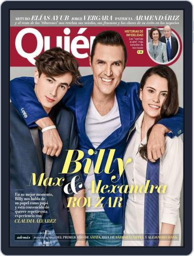 Quién (Digital) August 1st, 2017 Issue Cover