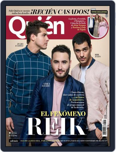 Quién July 1st, 2017 Digital Back Issue Cover