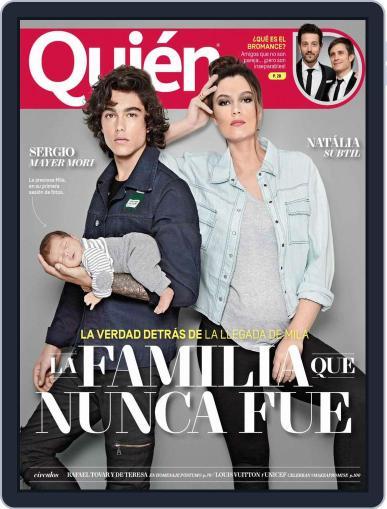 Quién (Digital) February 1st, 2017 Issue Cover