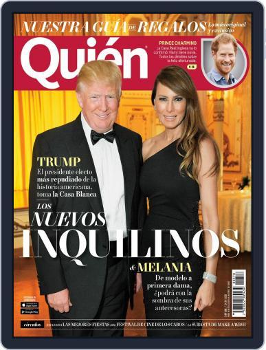 Quién (Digital) December 1st, 2016 Issue Cover