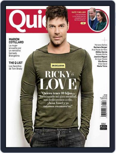 Quién (Digital) October 15th, 2016 Issue Cover