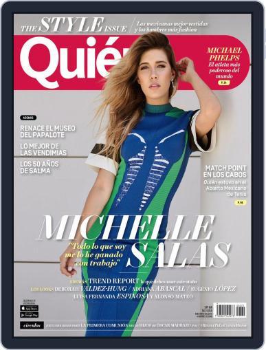 Quién (Digital) September 1st, 2016 Issue Cover