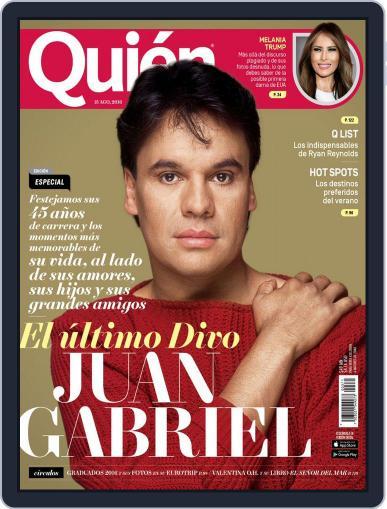 Quién (Digital) August 15th, 2016 Issue Cover