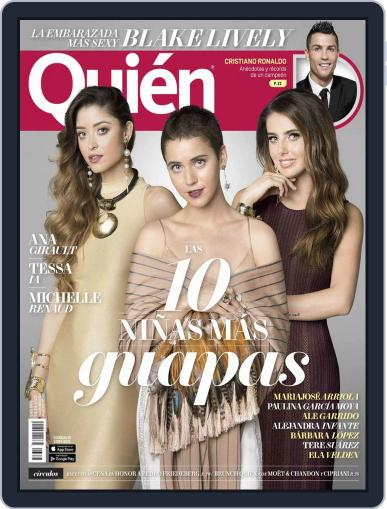 Quién August 1st, 2016 Digital Back Issue Cover
