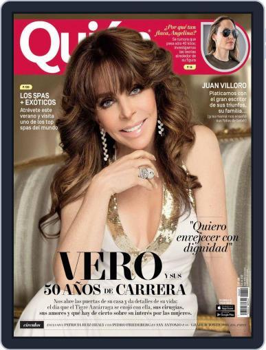 Quién (Digital) July 15th, 2016 Issue Cover