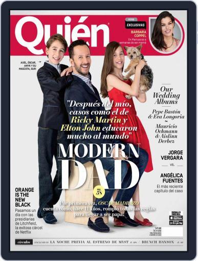 Quién (Digital) June 15th, 2016 Issue Cover