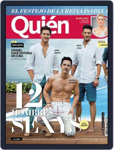 Quién (Digital) June 1st, 2016 Issue Cover