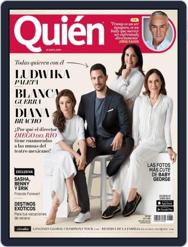 Quién (Digital) May 15th, 2016 Issue Cover