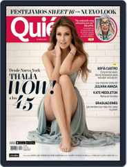 Quién (Digital) Subscription May 1st, 2016 Issue