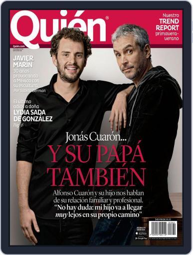 Quién (Digital) April 1st, 2016 Issue Cover
