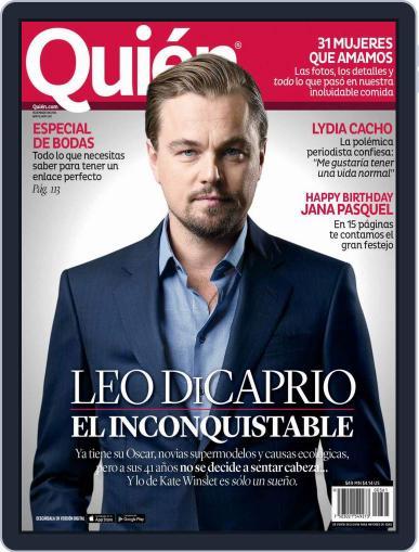 Quién (Digital) March 15th, 2016 Issue Cover